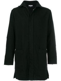 пальто с аппликацией Newams