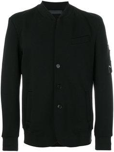 куртка-бомбер с неравномерным подолом Diesel Black Gold