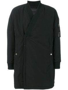 пальто мешковатого кроя Diesel Black Gold