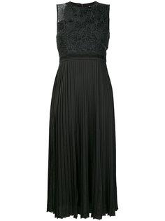 плиссированное платье Noir Night Three Floor