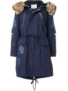 пальто-парка с вышивкой  3.1 Phillip Lim