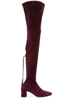 ботфорты с квадратным носком Nino Babukhadia