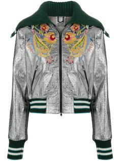куртка-бомбер с матросским воротником Aviù