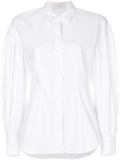 рубашка с присборенными рукавами  Sara Battaglia