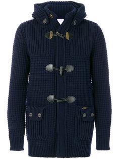 трикотажная куртка со съемным капюшоном Bark