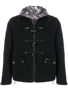 трикотажная куртка с камуфляжным принтом Bark