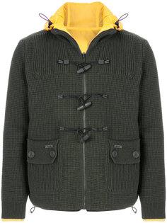 двухсторорнняя куртка с присборенной горловиной Bark