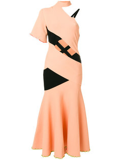 асимметричное платье на одно плечо Proenza Schouler