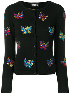 кардиган с принтом бабочек  Jeremy Scott
