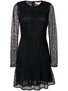 короткое кружевное платье  Michael Michael Kors