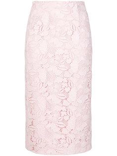 кружевная юбка с вышивкой  Nº21
