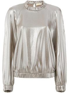 блузка металлик  Sara Battaglia