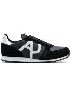 кроссовки со шнуровкой Armani Jeans