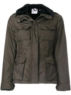 куртка милитари с меховой отделкой  Aspesi