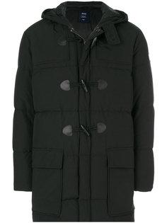 стеганая куртка с капюшоном Armani Jeans