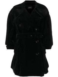 свободно пальто с укороченными рукавами Simone Rocha
