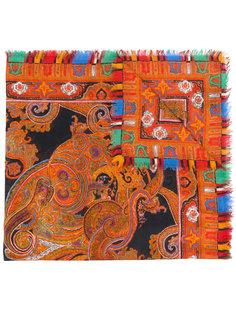 шарф с принтом пейсли Alexander McQueen