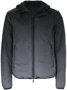 дутая куртка с градиентным узором Armani Jeans