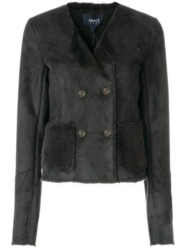 куртка из искусственного меха  Armani Jeans