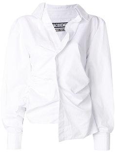 асимметричная рубашка  Jacquemus