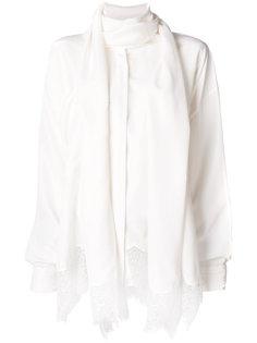 кружевная блузка с шарфом  Faith Connexion