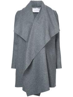 каскадное пальто  Harris Wharf London