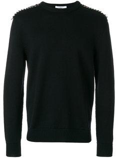 декорированный свитер  Givenchy