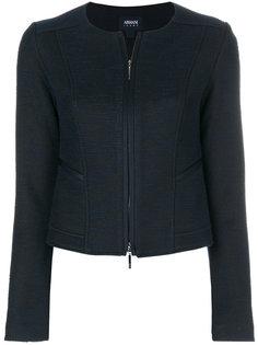 приталенная куртка на молнии  Armani Jeans