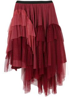 ярусная юбка из тюля  Antonio Marras