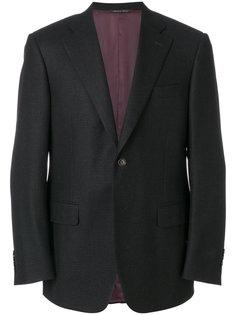 пиджак в клетку с застежкой на две пуговицы Canali