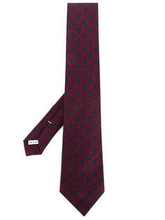 галстук с мелким узором Canali