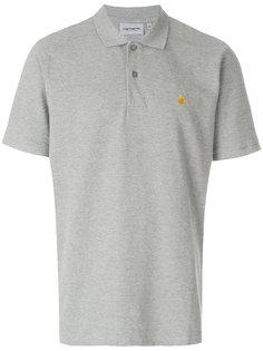 футболка-поло с вышитым логотипом Carhartt