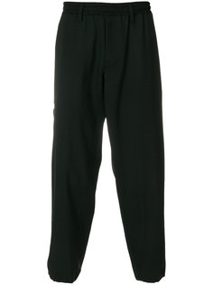 брюки с заниженной проймой Yohji Yamamoto