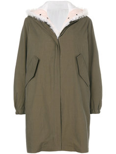 eskimo fur hooded coat Forte Couture