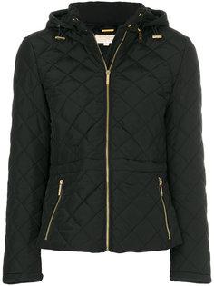 стеганая куртка-бомбер с капюшоном  Michael Michael Kors