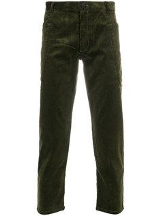 вельветовые укороченные брюки  Comme Des Garçons Shirt