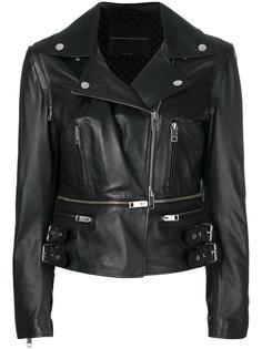 приталенная байкерская куртка  Ermanno Scervino