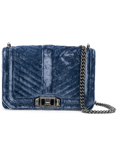 маленькая стеганая сумка  Rebecca Minkoff