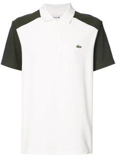 футболка-поло дизайна колор-блок Lacoste