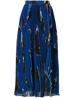 плиссированная юбка Proenza Schouler
