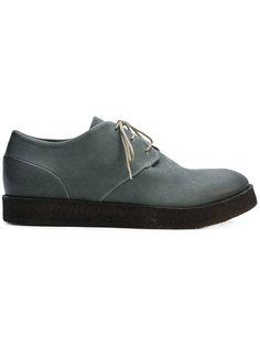 классические туфли на шнуровке Del Carlo