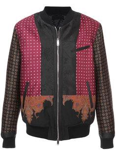 """куртка-бомбер с принтом """"пейсли"""" Alexander McQueen"""