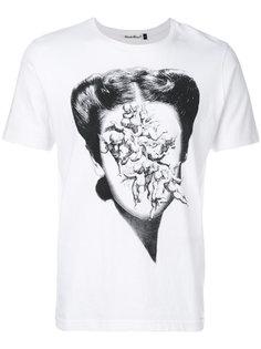футболка с принтом-портретом Undercover