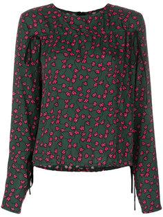 блузка с мелким принтом Marni