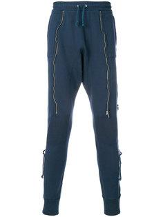 спортивные брюки с молнией Undercover