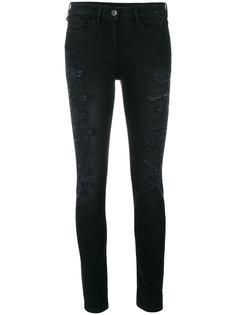 состаренные джинсы скинни  3X1