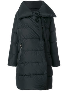 пуховое пальто с большим воротником Bacon