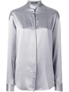 объемная рубашка с воротником-мандарин Haider Ackermann