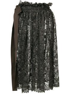 кружевная юбка миди  Uma Wang