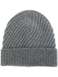 шапка в рубчик Giorgio Armani